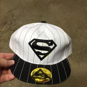 Other - NEW Kids Superman SnapBack Hat
